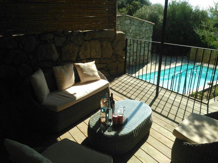 Bergerie climatisée avec piscine à Muratello, 10 mn de Porto vecchio.