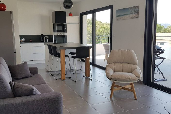 BIDEAU appartement porto vecchio corse location