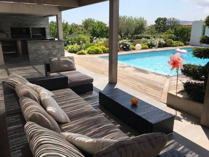 Lascialfari Villa de standing, piscine Lecci - 200m2, 8pers.
